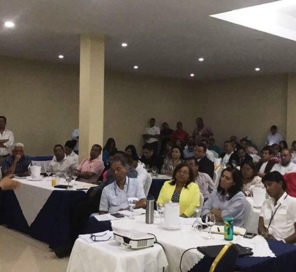 Encuentro con los alcaldes de los municipios que conforman el II, III y IV distrito judicial