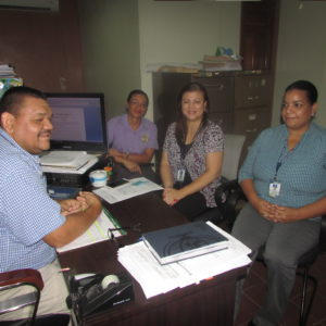 Colaboradoras de la Oficina Regional de Chepo realizan una visita a la Alcaldía Municipal de Chepo