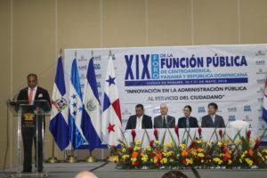 XIX Foro de la Función Pública de Centroamérica, Panamá y República Dominicana