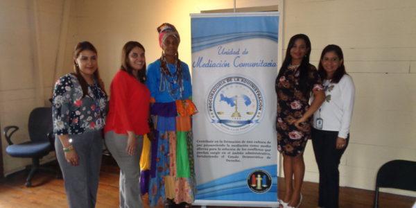 Conmemoración del décimo aniversario de la apertura del Centro de Mediación Comunitaria de Portobelo