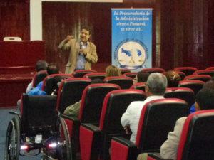 Seminario: Rehabilitación del espacio público para la accesibilidad de las personas con discapacidad