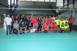 Inauguración del Torneo Interinstitucional Copa Valores 2018