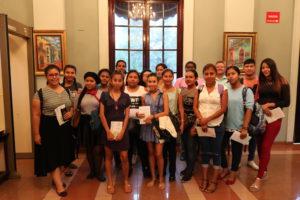 Estudiantes de la Universidad Panamá visitan la Procuraduría de la Administración