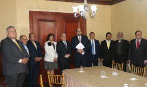 Comisionados entregan informe con las observaciones y recomendaciones de los aspirantes a magistrados de la CSJ