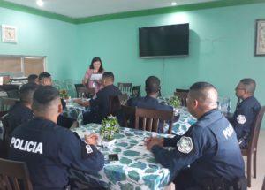 Jornada de capacitación a la Policía Nacional de Panamá Este