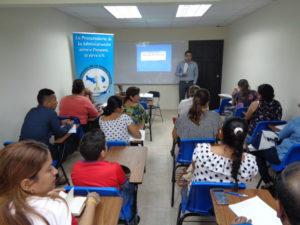 Capacitación a los aspirantes al cargo de jueces de paz en la provincia de Herrera