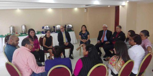 Participación del plan piloto sobre fortalecimiento de la Justicia Comunitaria de Paz