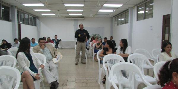 Conversatorio en la USMA de la provincia de Chiriquí