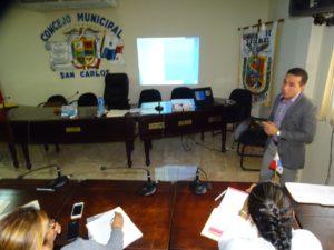 Jornada de capacitación dirigida al Municipio de San Carlos