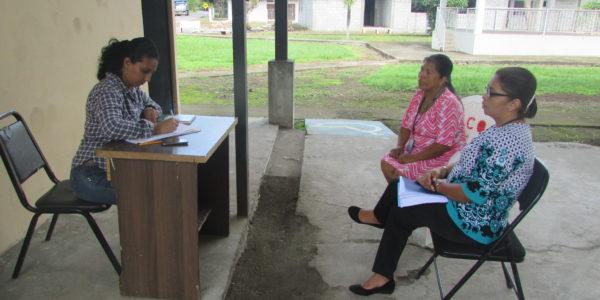 Visita a casas de justicia comunitaria de paz  de los distritos de Dolega y Boquete en la provincia de Chiriquí
