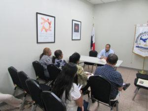 Jueces de Paz de San Lorenzo visitan Secretaría Provincial de Chiriquí
