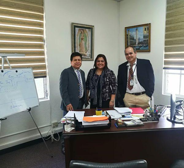 Reunión de coordinación con la Secretaría Nacional de Descentralización