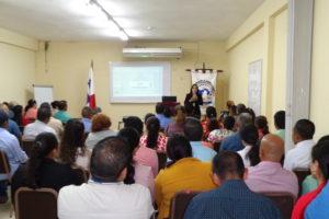 Capacitación sobre derecho administrativo en general en Veraguas