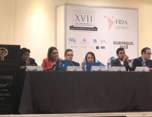 Subsecretaria general participa del Foro Iberoamericano de Derecho Administrativo (FIDA)