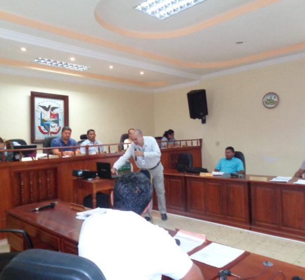 Presentación del proyecto Participación Ciudadana en el Buen Gobierno Municipal