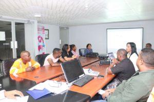Seminario sobre la Ley 16 para los funcionarios de la Junta Comunal de Cristóbal