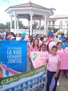 Cierre de la campaña rosada y celeste en Coclé