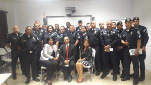 Policía Nacional se capacita en justicia comunitaria de paz y mediación comunitaria