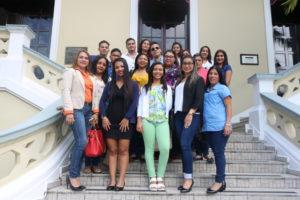 Estudiantes de la Universidad Iberoamericana de Panamá visitan la PA