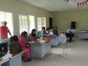 Capacitación a  jueces de paz del distrito de Nole Duima Comarca Ngäbe Buglé.