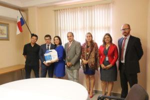 Representantes del Fondo Chile sostienen reunión con la secretaría general
