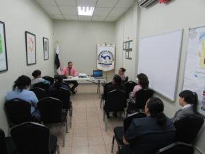 Colaboradores de la Secretaría Provincial de Chiriquí se capacita