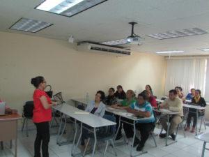 Conversatorio en la Facultad de Administración Pública en UNACHI