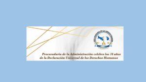 10 de diciembre, conmemoración del Día de los Derechos Humanos