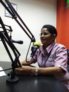 Visita a Radio Universitaria en UNACHI,  en el dial 93.3 F M.