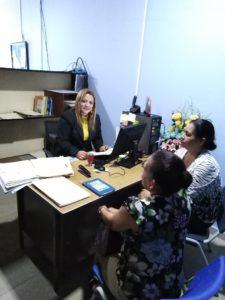 Visita a Casa de Justicia Comunitaria de Paz, en David