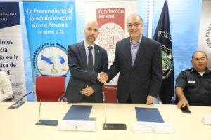 La Procuraduría de la Administración y la Fundación General de la Universidad de Salamanca firman convenio marco de cooperación