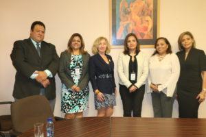 Secretaria General se reúne con magistrada del Poder Judicial de España