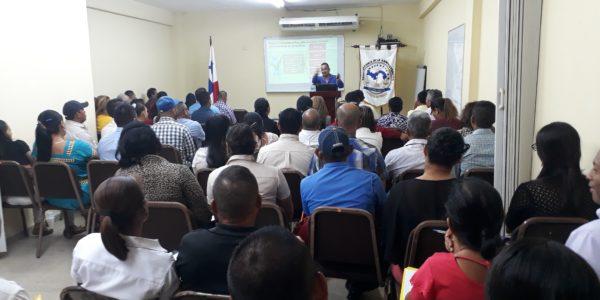 Jornada de capacitación a los jueces de paz de la provincia de Veraguas y el distrito de Ñürüm