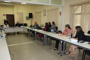 Cuarta reunión de miembros de la Comisión de Estado por la Justicia con candidatos presidenciales