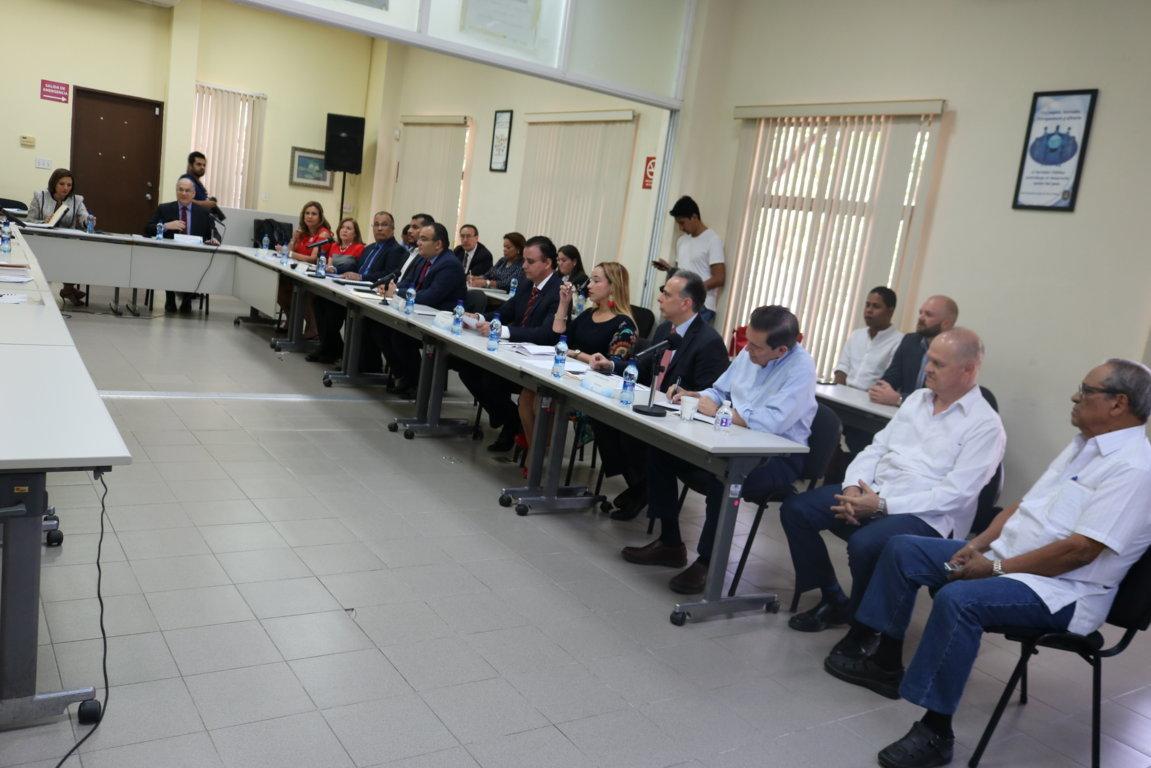 Quinta reunión de miembros de la Comisión de Estado por la Justicia con candidatos presidenciales