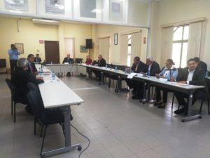 Tercera reunión de los comisionados del Pacto con candidatos presidenciales
