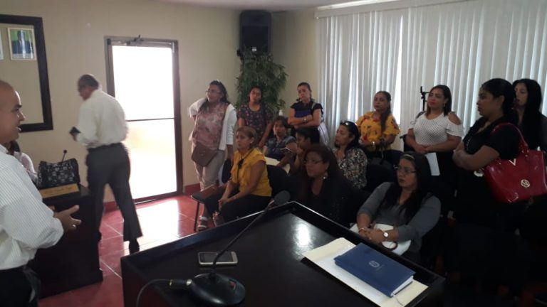 Asistencia Técnica a funcionarios municipales que imparten Justicia Comunitaria de Paz, en Chame
