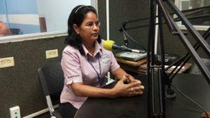 Visita a la Radio Universitaria en el distrito de David
