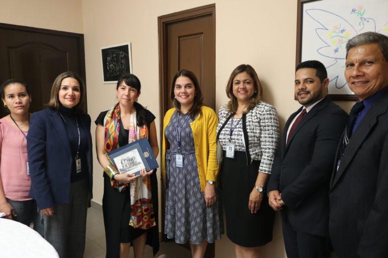 Reunión de coordinación con experta del programa para la cohesión social en América Latina – EUROsociAL
