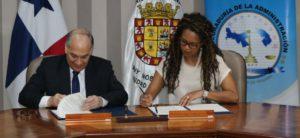 La Procuraduría de la Administración y el Municipio de Panamá firman convenio