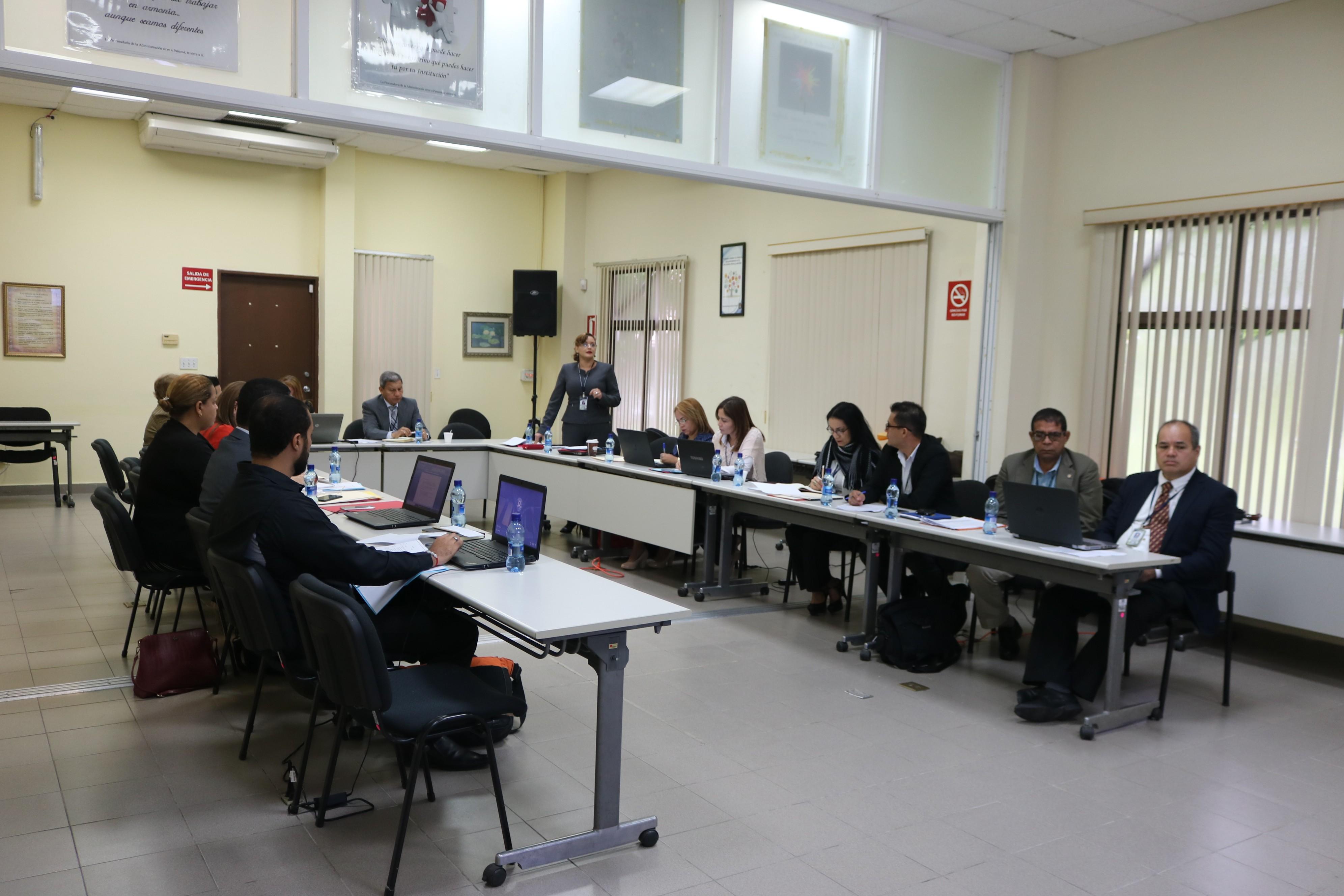 Reunión sobre el Plan Estratégico Institucional