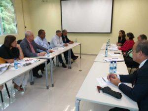 Reunión de coordinación con AMUPA y ADALPA