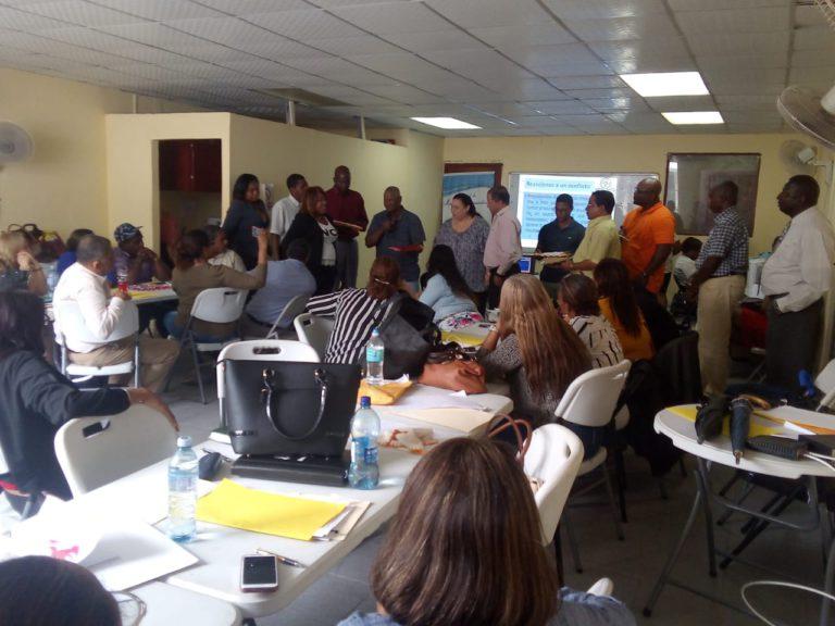 Formación de nuevos mediadores comunitarios en Colón