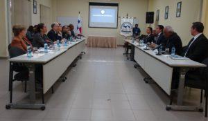 Autoridades y directivos de la Procuraduría de la Administración se reúnen con el vicepresidente electo de la República y comitiva