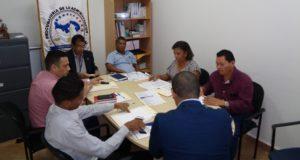 Reunión con alcaldes de la provincia de Herrera