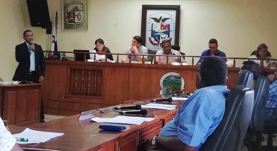SAM brinda asistencia técnica al Consejo Municipal del distrito de Capira