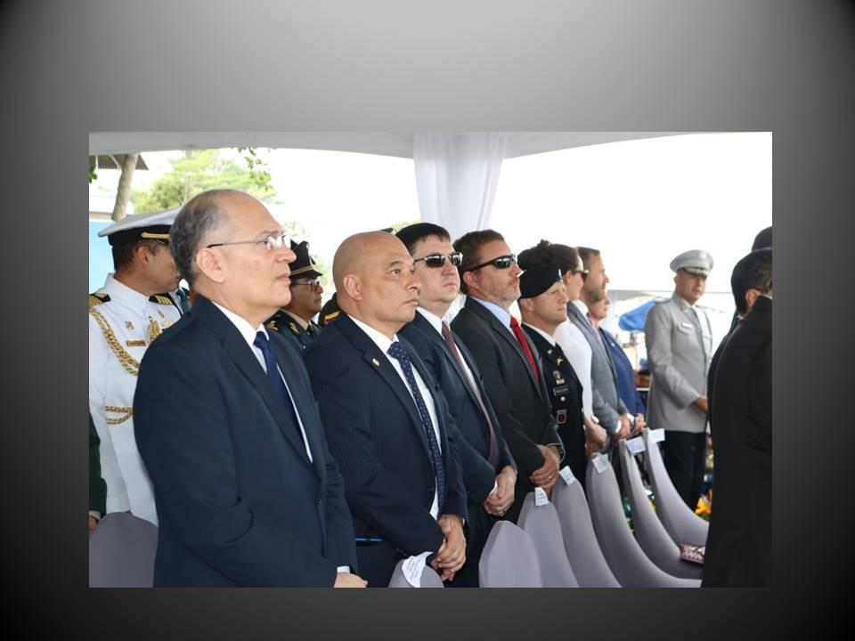 Ceremonia de traspaso de mando de los estamentos de seguridad