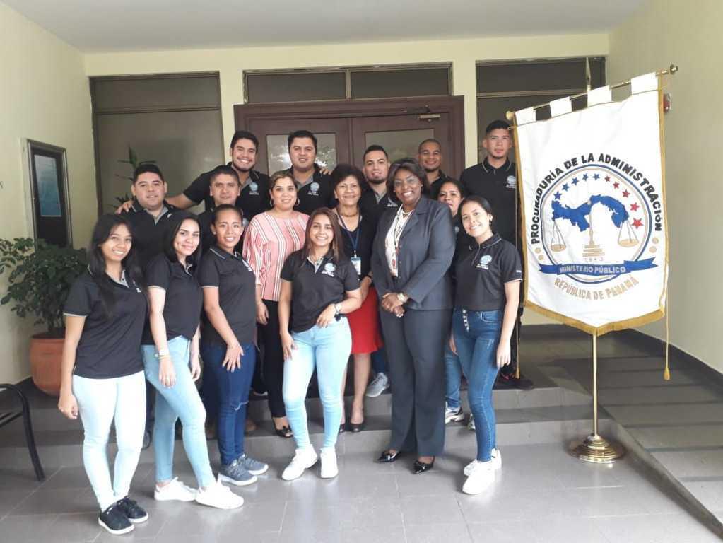 Estudiantes de Veraguas visitan la Procuraduría de la Administración