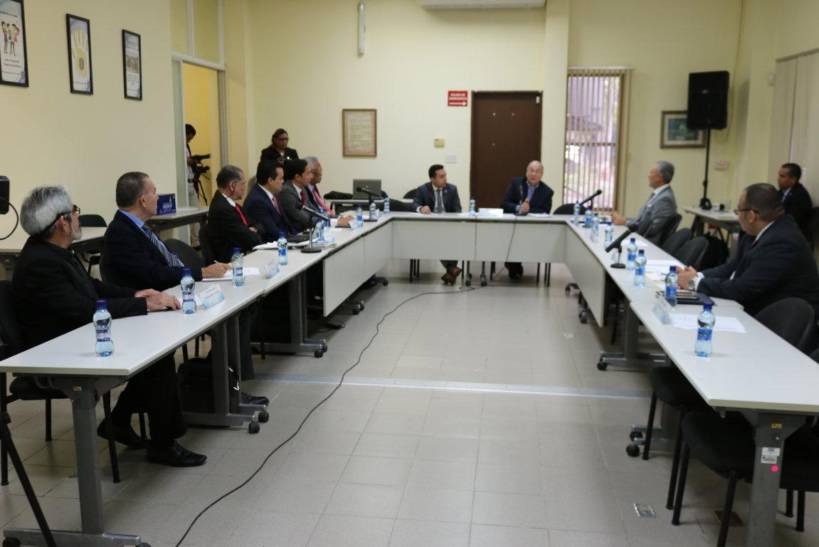 Comisión Especial de Evaluación define cuestionario para el proceso de entrevistas