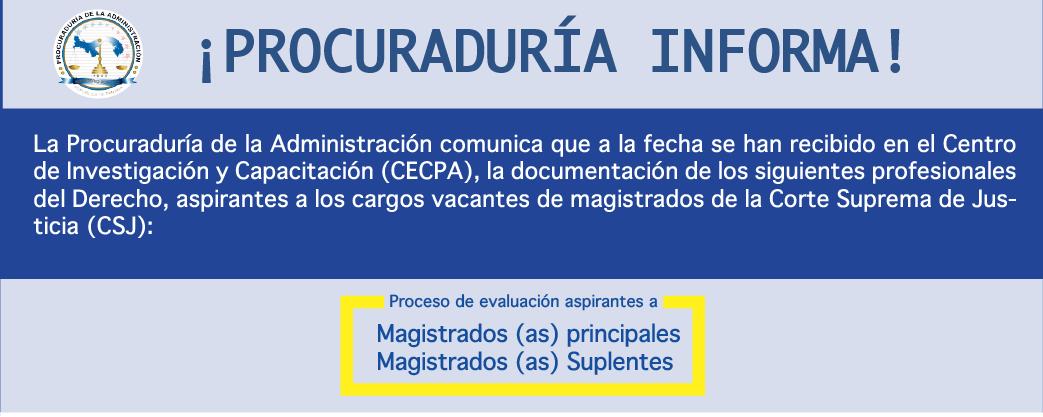 Procuraduría Informa